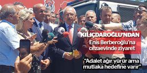 Sıcak Gelişme: Enis Berberoğlu'nun tutuklu bulunduğu cezaevinde hareketli dakikalar!