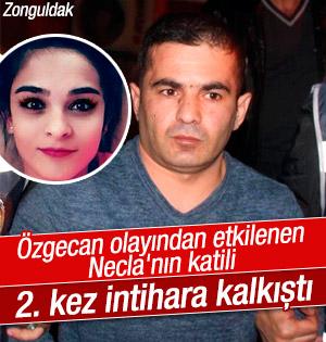 Necla Sağlam'ın katil zanlısı 2. kez intihara kalkıştı