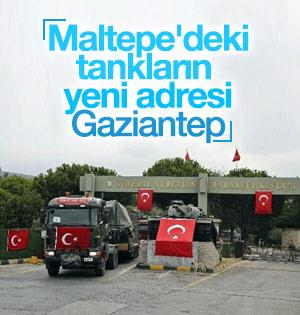 İstanbul'daki tanklar taşınmaya devam ediliyor
