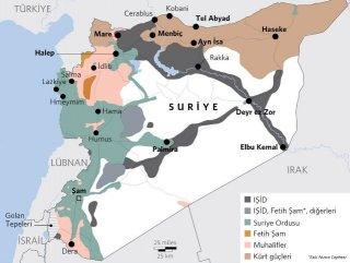 Suriye'de kim kiminle savaşıyor
