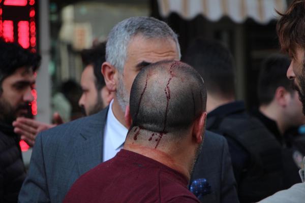 Şişli'de Kavga Yaralılar Var
