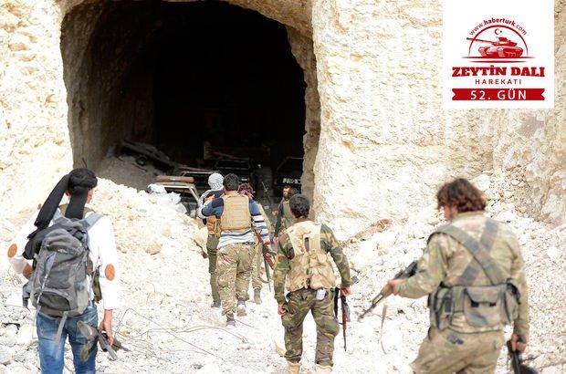 Afrin'de 52. Gün Etkisiz Hale Getirilen Terörist Sayısı