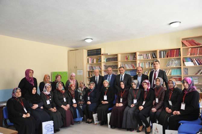 Başkan Cabbar'dan 0-18 yaş aile eğimi programına ziyaret