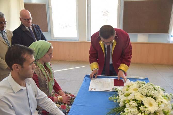 Milas'ta 'Bir yastıkta bir ömür' projesi