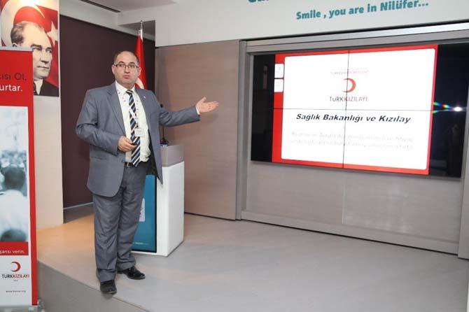 Belediye personeline kök hücre konferansı