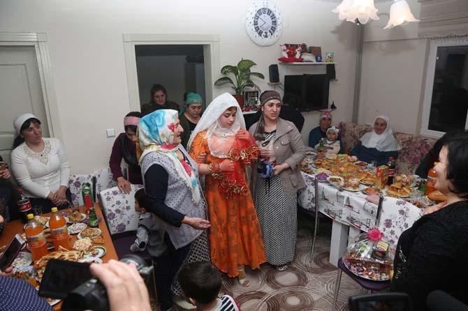 Ahıska Türklerinde kız isteme geleneği