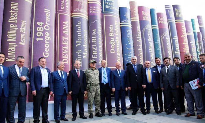 Erzurum Kitap Fuarı açıldı ile ilgili görsel sonucu