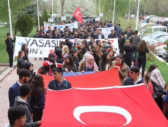 Sivas'ta Türkçüler Günü kutlandı.
