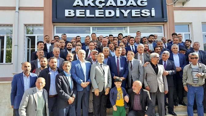 Bakan Tüfenkci Akçadağ ilçesini ziyaret etti