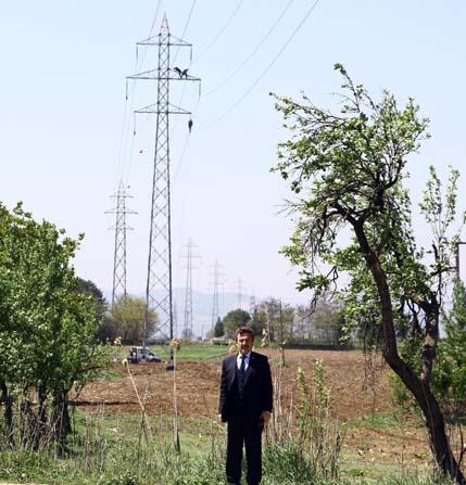 Yenişehir'de elektrik hatları yenileniyor