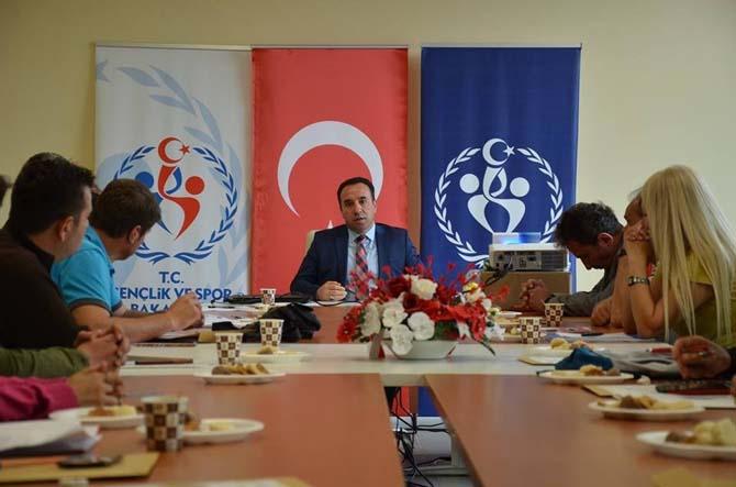 Badminton Yıldızlar Grup Müsabakaları teknik toplantısı gerçekleştirildi