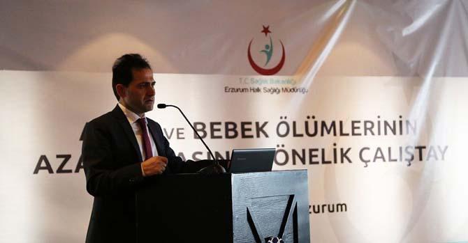 Erzurum'da Anne ve Bebek Ölümlerinin Azaltılması Çalıştayı
