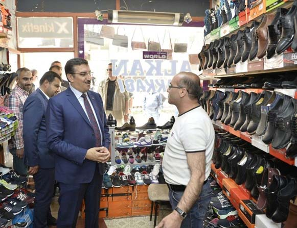 Bakan Tüfenkci Doğanşehir ilçesini ziyaret etti