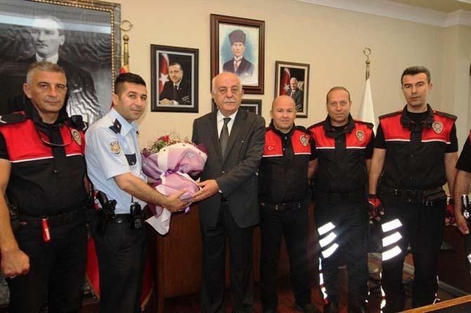 Başkan Seyfi Dingil'den polise motosiklet desteği