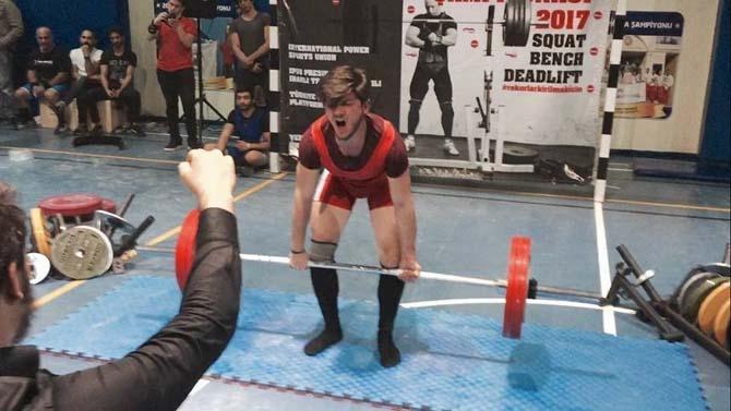 Atakan Terzili Avrupa şampiyonu oldu
