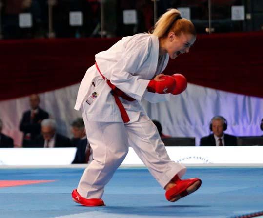Kağıtsporlu milli karateci Avrupa şampiyonu oldu