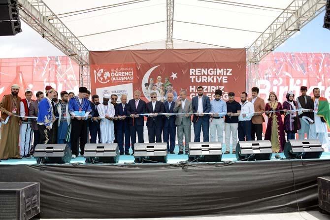 Konya Uluslararası Öğrenci Buluşmasına ev sahipliği yapıyor