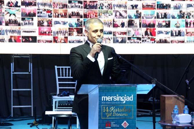 Mersin GİAD, 14. yaşını baloyla kutladı