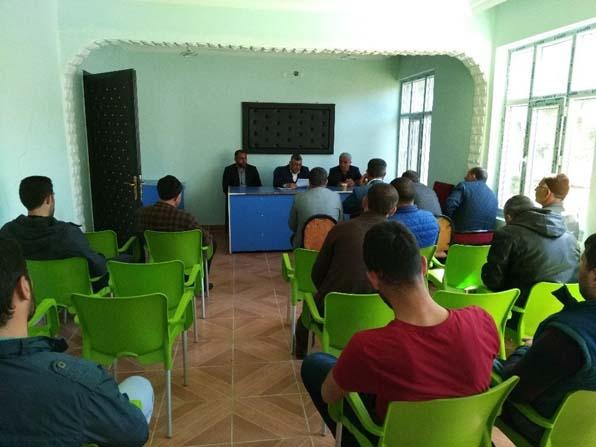 Muş Ovası Sulama Birliğinin olağan toplantısı yapıldı