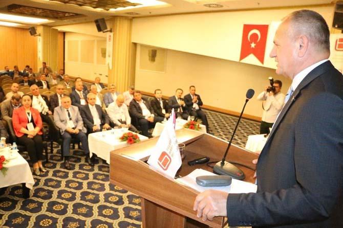 Şanlıurfa'da belediye başkanları birliği yönetim kurulu toplantısı yapıldı