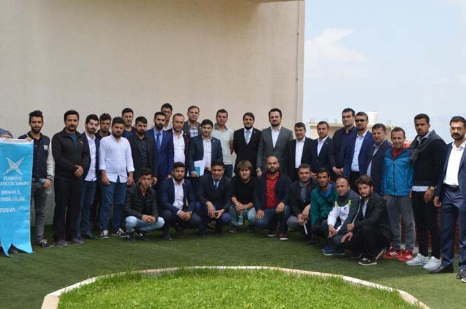 TÜGVA Genel Başkan Yardımcısı Şırnak'ta