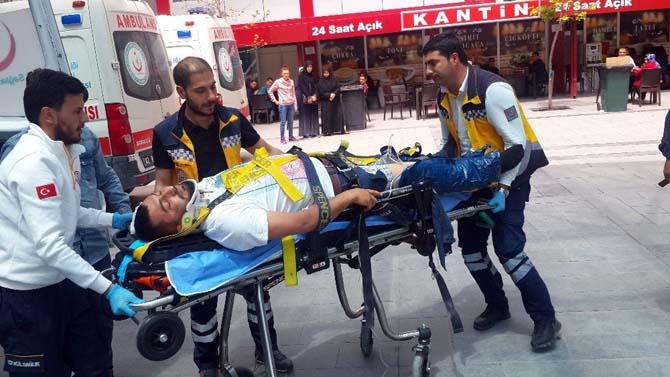 Konya'da ambulansla otobüs çarpıştı: 3 yaralı