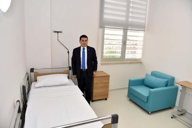 Başkan Tütüncü, hizmete giren sağlık merkezini denetledi