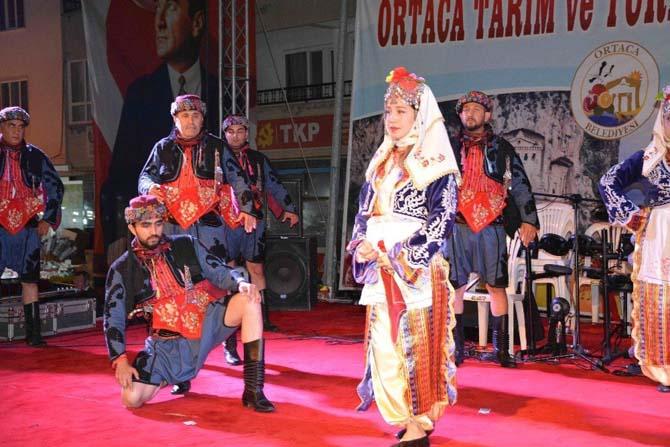 OFAD, Ortaca festivalinin ilk gününe renk kattı