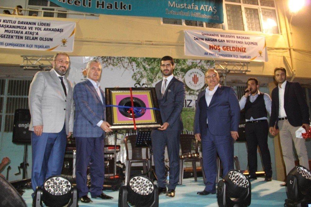 """AK Parti Genel Başkan Yardımcısı Mustafa Ataş;""""Asla birliğimizi, dirliğimizi bozamayacaklar"""""""
