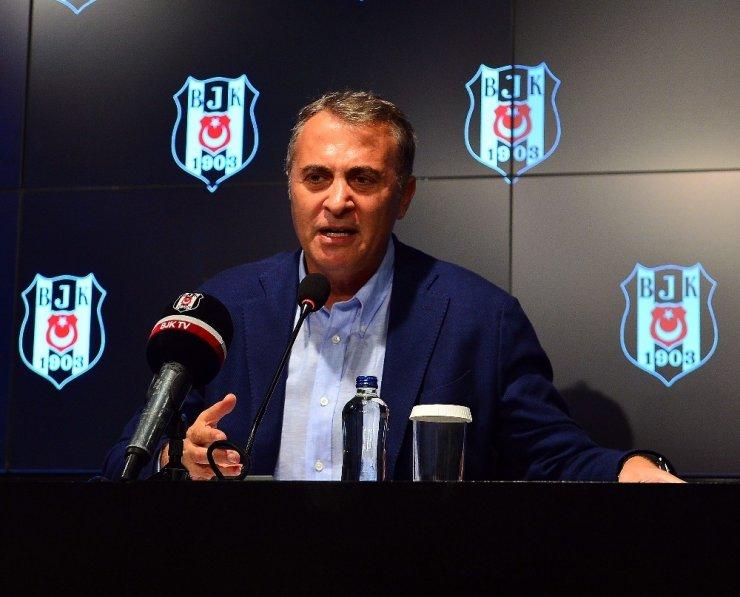 """Fikret Orman: """"Beşiktaş üzerinde oynanan oyunları görmüyor değiliz"""""""