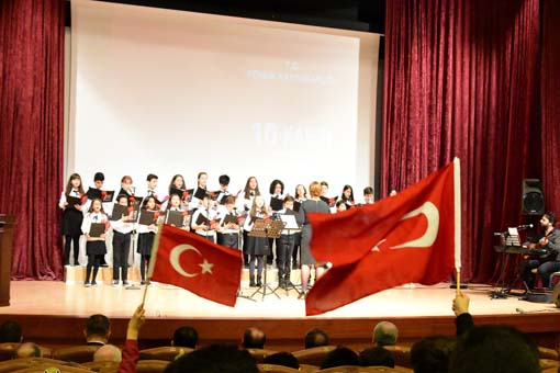 Pendik Gazi Mustafa Kemal Atatürk'ü Saygıyla Andı