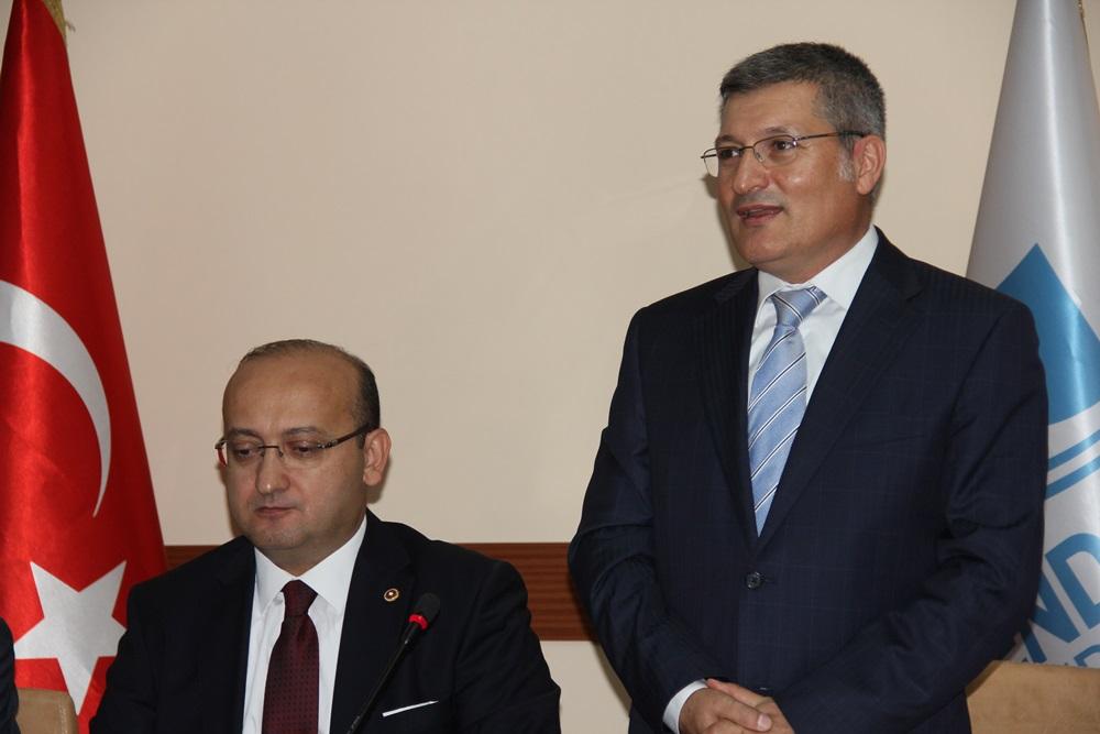 Yalçın Akdoğan İlk Ziyareti Pendik Belediyesi Oldu