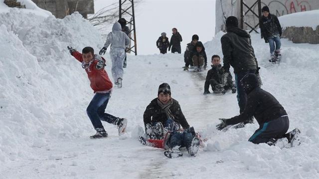 Kar Nedeniyle Okulların Tatil Edildiği İller